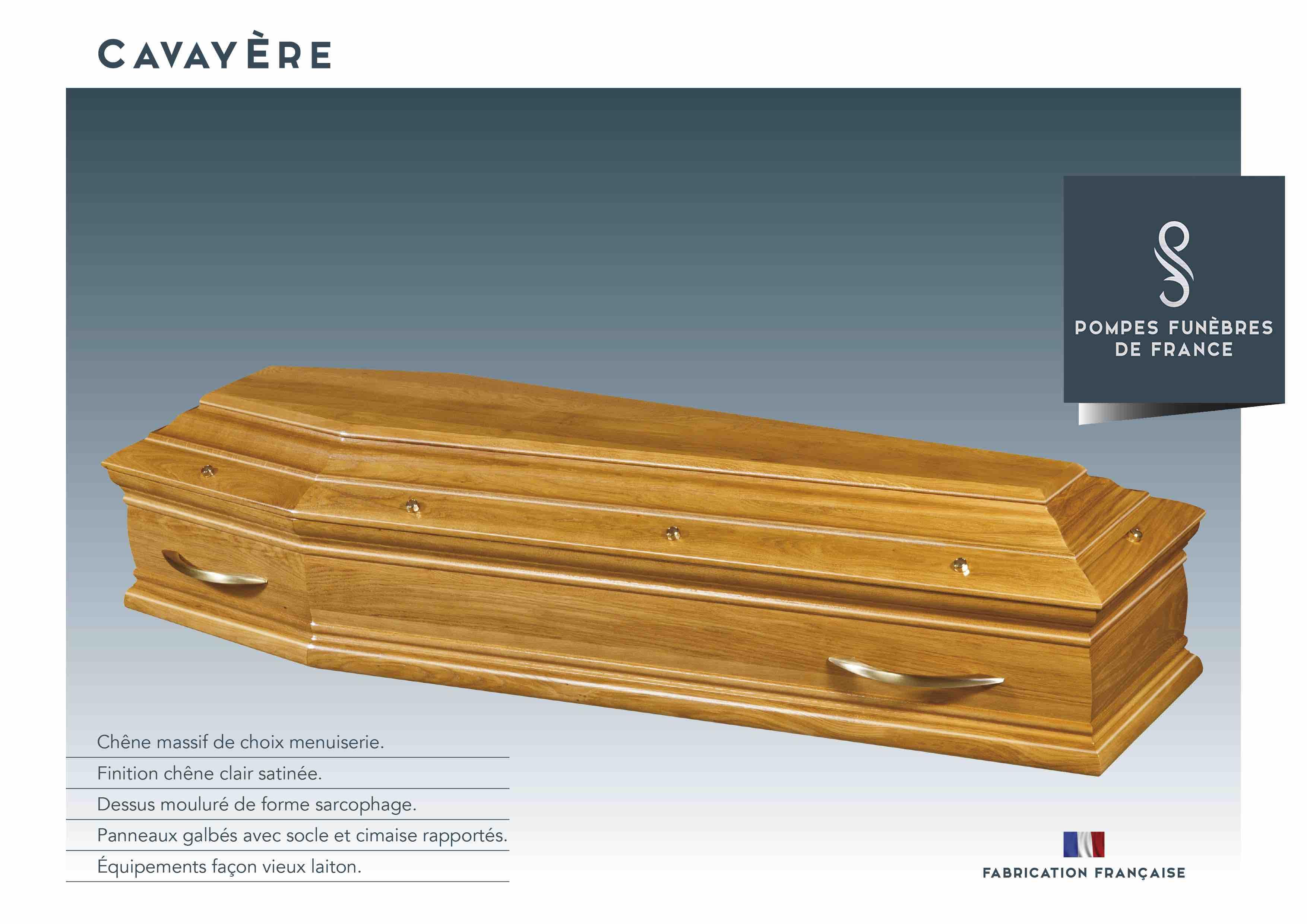 Cercueil Cavayère