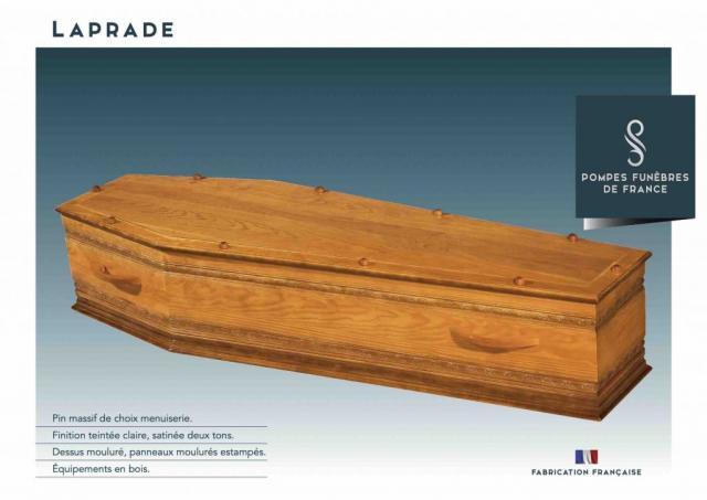 Cercueil Laprade