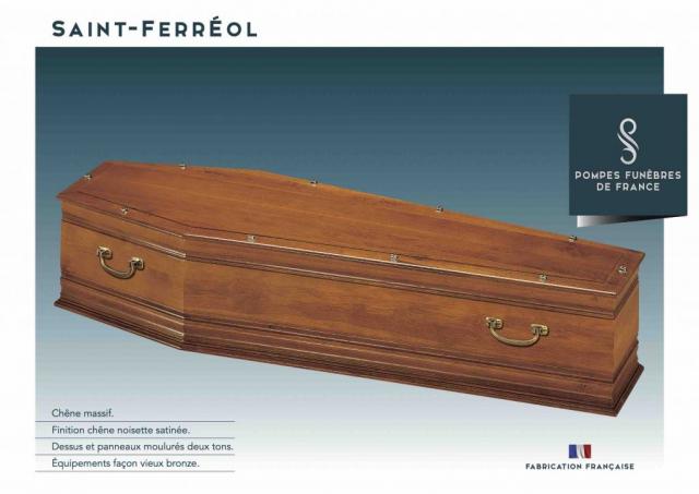 Cercueil Saint-Ferréol