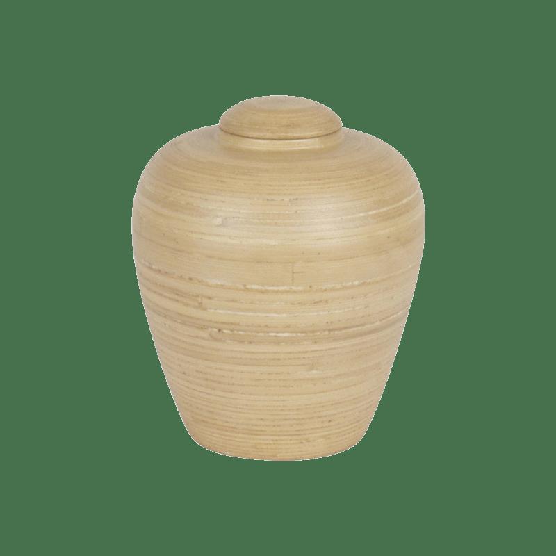 Urne funéraire en Bambou